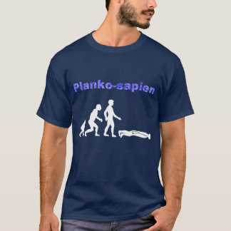 T-shirt Évolution de Planking