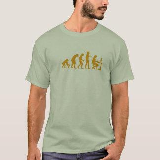 T-shirt Évolution de programmation par ordinateur