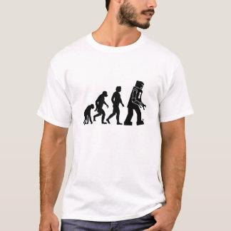 T-shirt Évolution de robot - nos nouveaux suzerains de