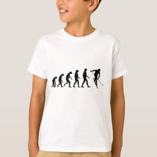 T-shirt Évolution de ski