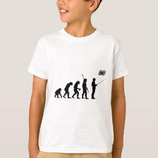 T-shirt Évolution d'insecte de quadruple