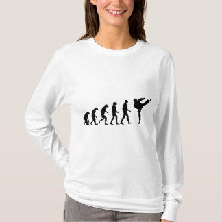 T-shirt Évolution du karaté