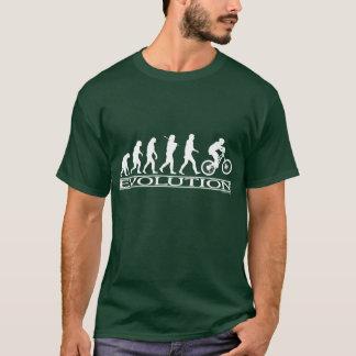 T-shirt Évolution - faire du vélo de Mt
