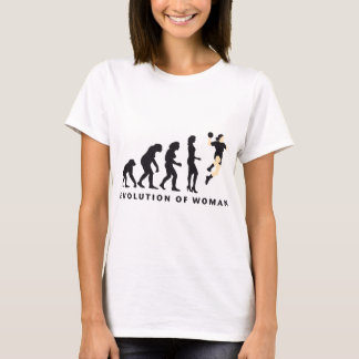 T-shirt évolution female handball