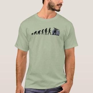 T-shirt Évolution humaine : Conducteur