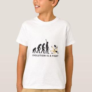 T-shirt évolution judo