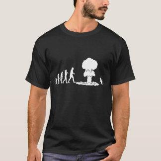 T-shirt Évolution - obscurité
