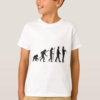 T-shirt évolution of clarinet plus player