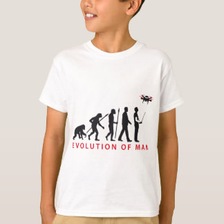 T-shirt évolution of contrôles drone