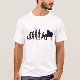 T-shirt évolution piano