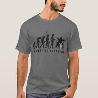 T-shirt évolution plus drummer