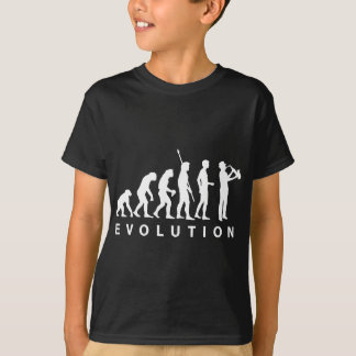 T-shirt Évolution saxophone black