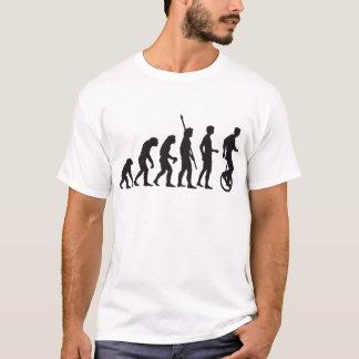 T-shirt évolution unicycle