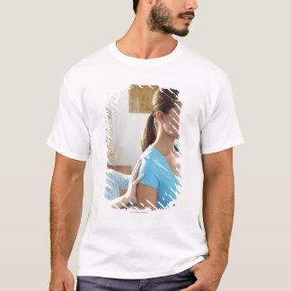 T-shirt Examen de chiropractie de l'épine thoracique