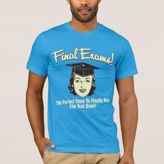 T-shirt Examens finaux : Achetez enfin le manuel
