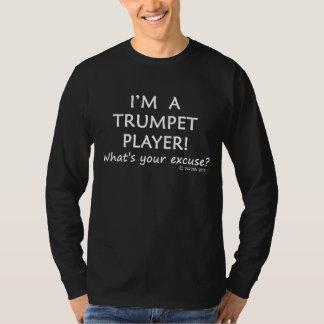T-shirt Excuse de trompettiste