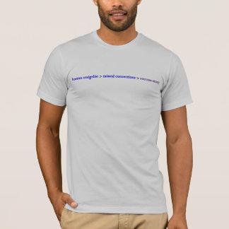 T-shirt Exemple de succès manqué de connexions