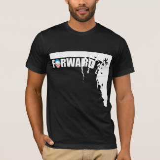 T-shirt Expédiez - outre d'une falaise ! - Anti Obama