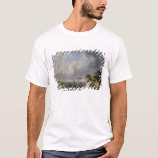 T-shirt Expédition outre d'un littoral en mer agitée