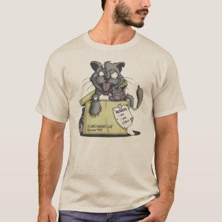 T-shirt Expérience Chat de Schrodingers