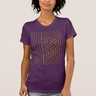 T-shirt Expérience de la Science de particules d'onde