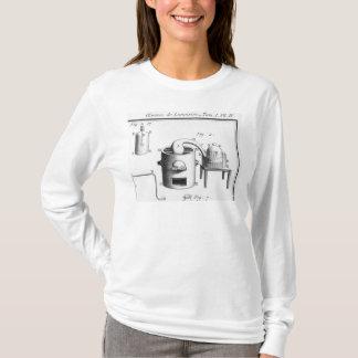 T-shirt Expérience sur la décomposition de l'eau
