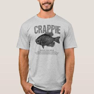 T-shirt Explication de crapet