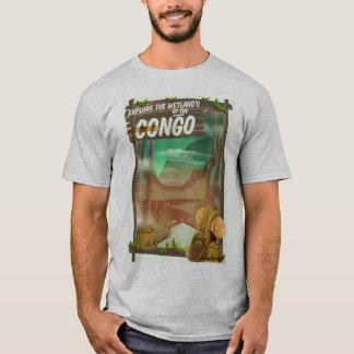 T-shirt Explorez les marécages du Congo
