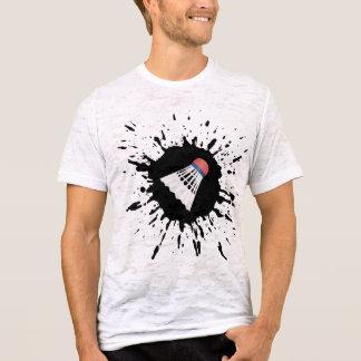 T-shirt Explosion de badminton