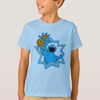T-shirt Extrémité de monstre de biscuit