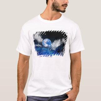 T-shirt Extrémité du monde, illustration conceptuelle