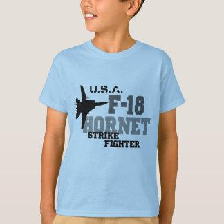 T-shirt F-18 frelon - combattant de grève