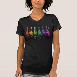 T-shirt F-style de mandoline dans des couleurs