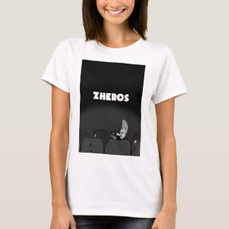 "T-shirt F ""Zheros va au cinéma"""