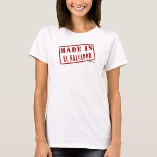 T-shirt Fabriqué au Salvador