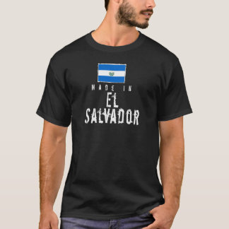 T-shirt Fabriqué au Salvador - obscurité