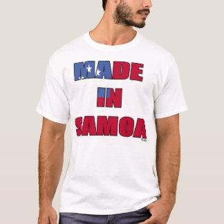 T-shirt Fabriqué au Samoa (drapeau du Samoa)