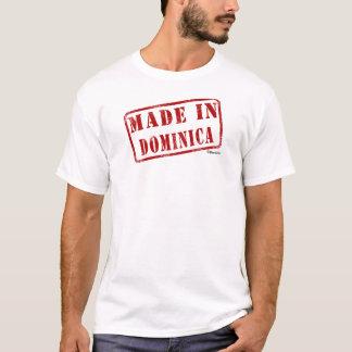 T-shirt Fabriqué en Dominique