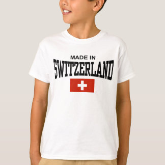 T-shirt Fabriqué en Suisse