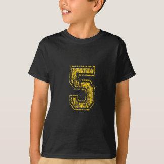 T-shirt Fac #5 jaune