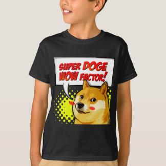 T-shirt Facteur superbe du doge wow de Meme de doge