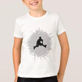 T-shirt Faire du roller le style de griffonnage