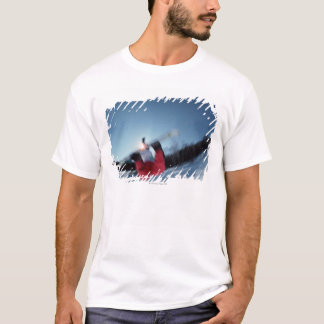 T-shirt Faire du surf des neiges 12