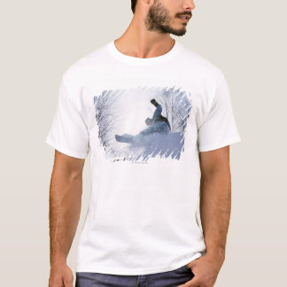 T-shirt Faire du surf des neiges 13