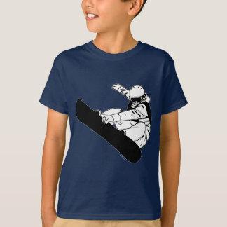 T-shirt Faire du surf des neiges 3
