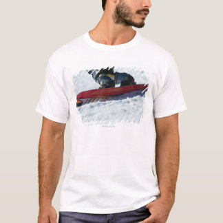T-shirt Faire du surf des neiges 4