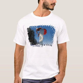 T-shirt Faire du surf des neiges 5