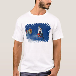 T-shirt Faire du surf des neiges 8