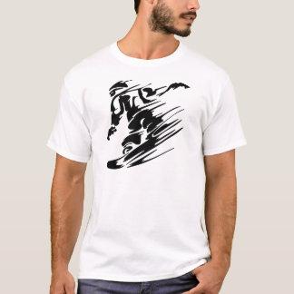 T-shirt Faire du surf des neiges des sports extrêmes
