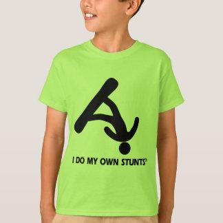 T-shirt Faire du surf des neiges mes propres cascades